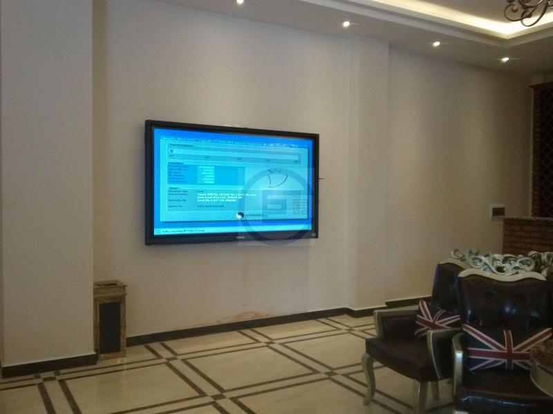 楚雄售楼中心84寸交互式智能平板